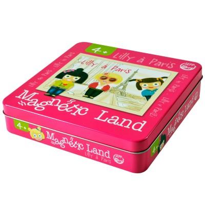 Iotobo Jeu Magnetic Land : Lilly à Paris