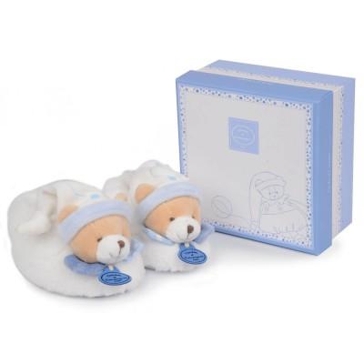 Doudou Et compagnie chaussons hochet 6-12 mois : ours petit chou