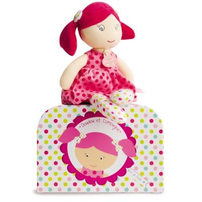 Doudou Et compagnie les demoiselles brin de folie : poupée grenadine