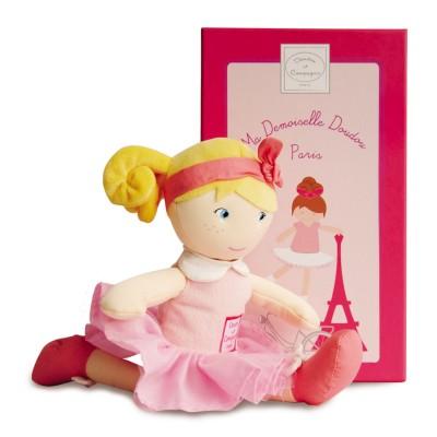 Doudou Et compagnie les demoiselles de paris : poupée louise