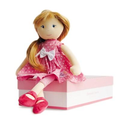 Doudou Et compagnie les demoiselles à coiffer : poupée amélie