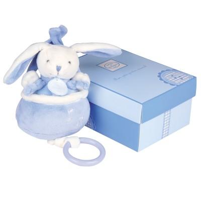 Doudou Et compagnie coffret boîte à musique : cueillette bleue