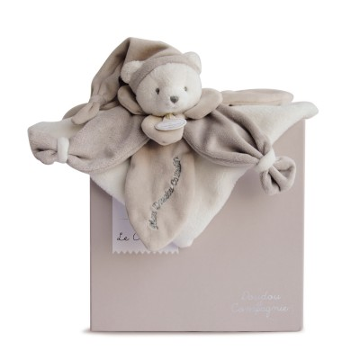 Doudou Et compagnie j'aime mon doudou : ours gris collector
