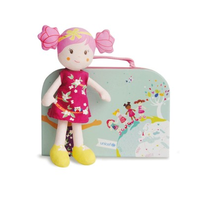 Doudou Et compagnie poupée de chiffon unicef : cassy