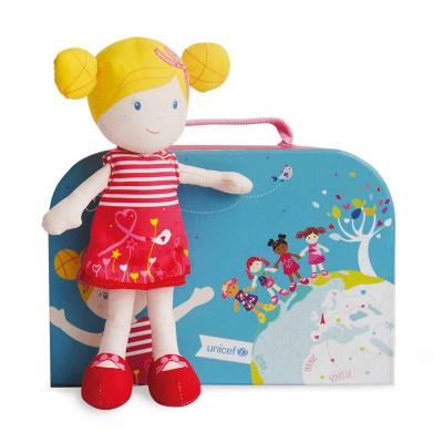 Doudou Et compagnie poupée de chiffon unicef : coraline