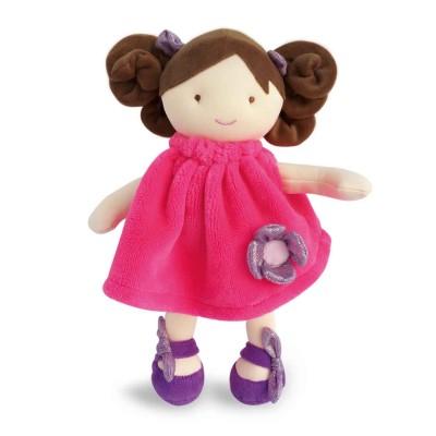 Doudou Et compagnie poupée demoiselle doudou pretty : lollipop 28 cm