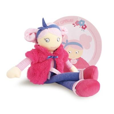 Doudou Et compagnie les demoiselles wiiizzz : poupée joséphine