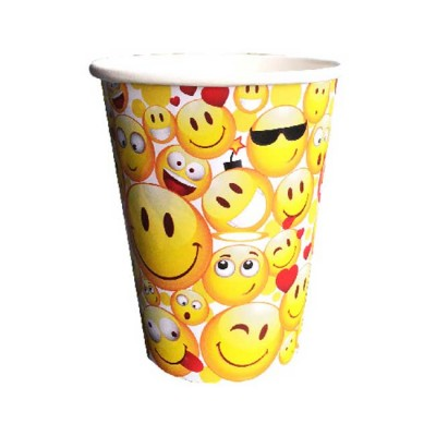 Procos Lot de 6 gobelets 25 cl smiley