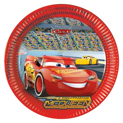 Procos Assiettes cars 3™ x8