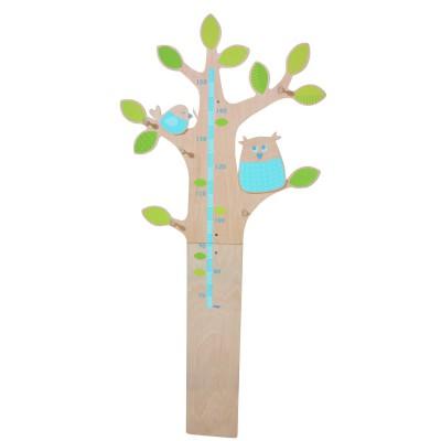 Toise hibou des bois haba magasin de jouets pour enfants - Toise en bois personnalisable ...