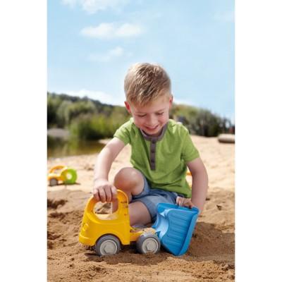 Haba Jouet pour le sable : Camion à benne basculante