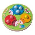 Haba Jeu d'assemblage : Coccinelles multicolores