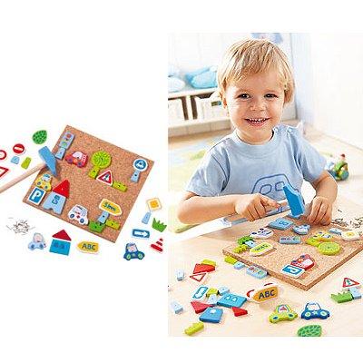 jeu de clous traffico haba magasin de jouets pour enfants. Black Bedroom Furniture Sets. Home Design Ideas
