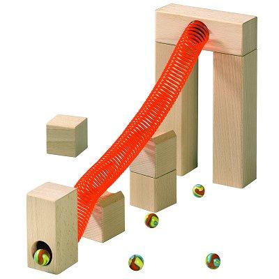 Haba Accessoire pour toboggan à bille : tuyau flexible