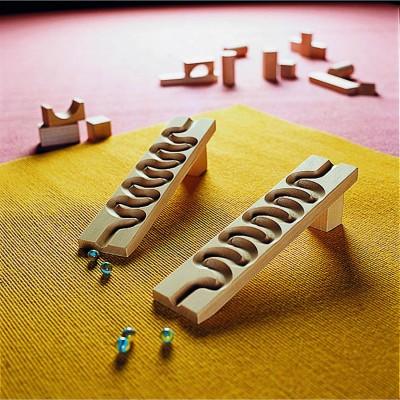 Haba Accessoires pour toboggan à billes : serpentin