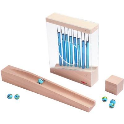 Haba Accessoire pour toboggan à billes mon premier toboggan à billes : tunnel avec carillon