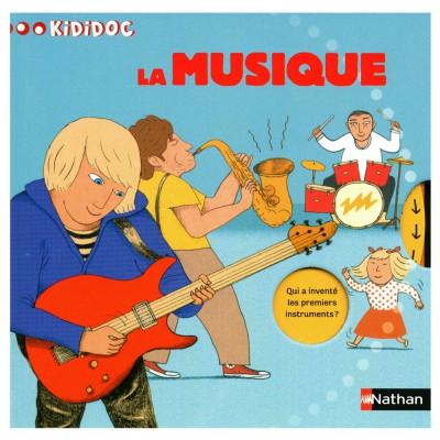 Nathan Livre Kididoc : La musique