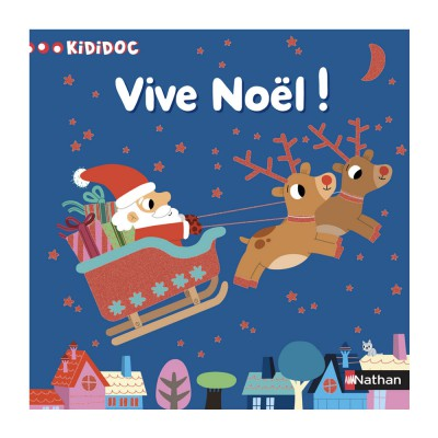 Nathan Livre Kididoc : Vive Noël !