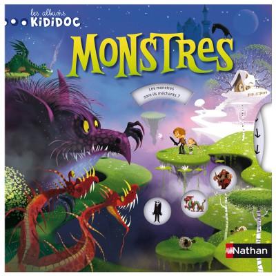 Nathan Livre Les albums Kididoc : Monstres