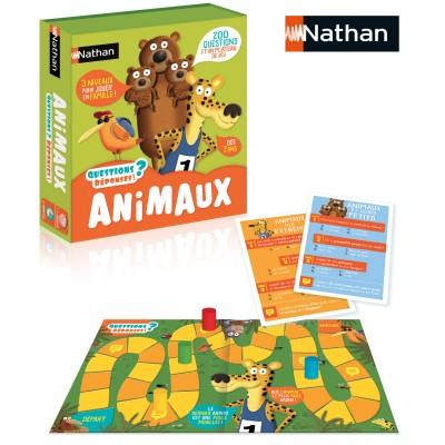 Nathan Jeu de questions-Réponses : animaux