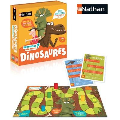 Nathan Jeu de questions réponses : dinosaures
