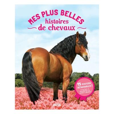 Editions Auzou Livre-posters : Mes plus belles histoires de chevaux 2014