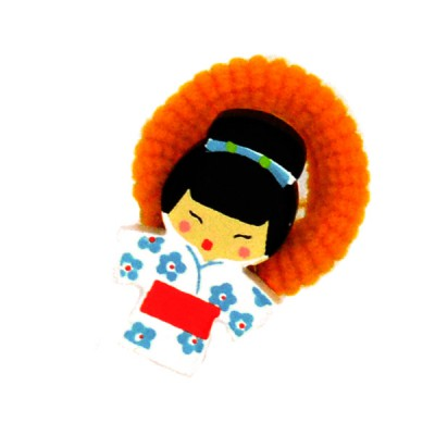 Le Coin des enfants chouchou kokeshi : kiyoshi (lot de 2)