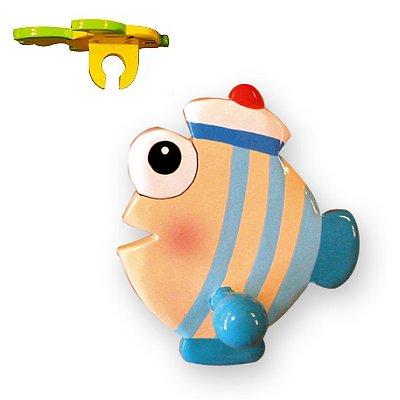 Le Coin des enfants porte brosse à dents - poisson marin