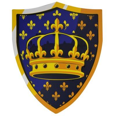 Le Coin des enfants bouclier en mousse couronne royale