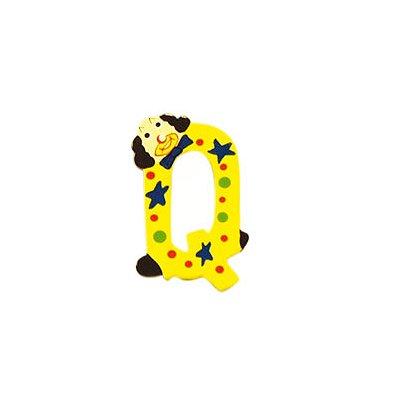 Le Coin des enfants lettre clown en bois : q