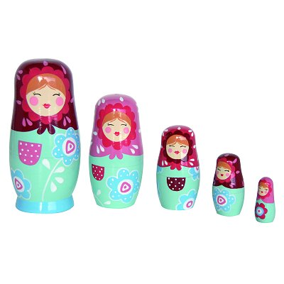Poup e russe matriochka natalya le coin des enfants for Poupee russe