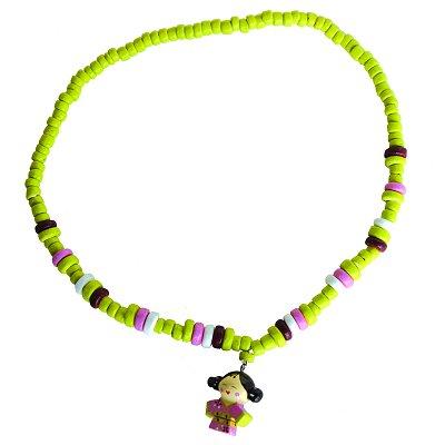 Le Coin des enfants collier kokeshi : naomi