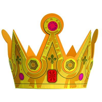 Couronne en mousse roi fleur de lys le coin des enfants magasin de jouets pour enfants - Couronne de roi a fabriquer ...