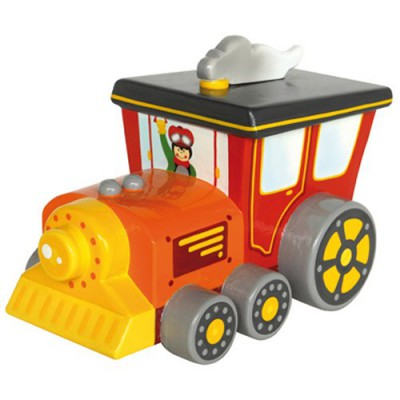 tirelire locomotive le coin des enfants magasin de jouets pour enfants. Black Bedroom Furniture Sets. Home Design Ideas