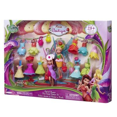 coffret dressing gourmand f e clochette disney fairies jakks pacific magasin de jouets pour. Black Bedroom Furniture Sets. Home Design Ideas