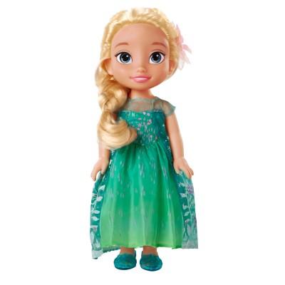 Jakks Pacific Poupée 38 cm La Reine des Neiges (Frozen) : Elsa Fête givrée