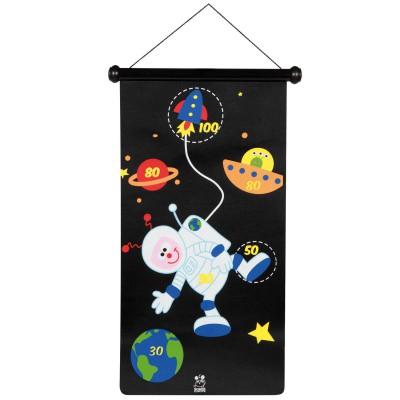 Scratch Europe jeu de fléchettes magnétique : astronaute