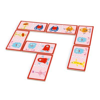 Scratch Europe jeu de domino duo montres et chiffres