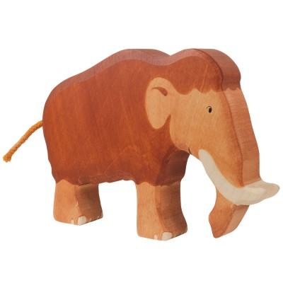 Holztiger Figurine en bois holztiger : dinosaures : mammouth
