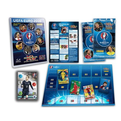 Panini Cartes à collectionner uefa euro 2016 : starter pack