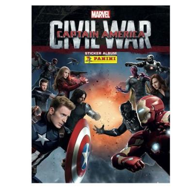 Panini Cartes à collectionner captain america civil war : album