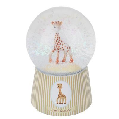 Trousselier Boule à neige musicale en verre : sophie la girafe