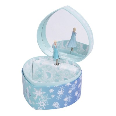 Trousselier Boîte à musique la reine des neiges (frozen) : grand coeur elsa