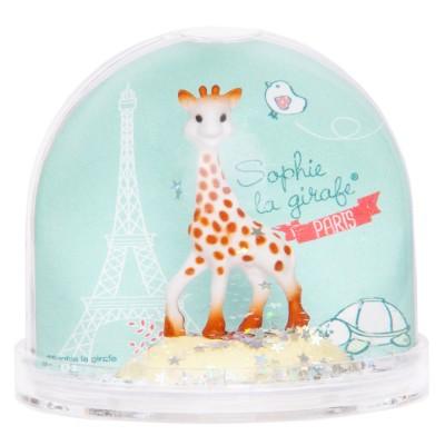 Trousselier Boule à neige sophie la girafe paris