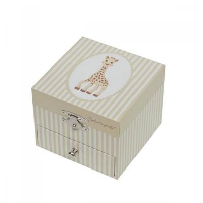 Trousselier Coffret musical cube sophie la girafe
