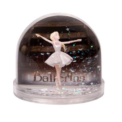 Trousselier Boule à neige : danseuse étoile