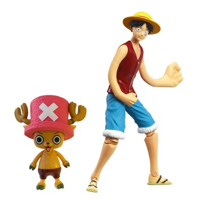 Obyz Figurines one piece : luffy et chopper