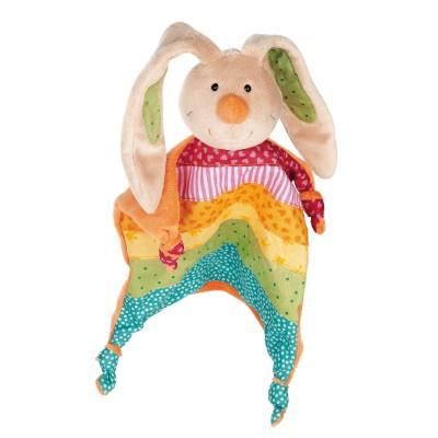 Sigikid Doudou Lapin arc-en ciel Rainbow Rabbit