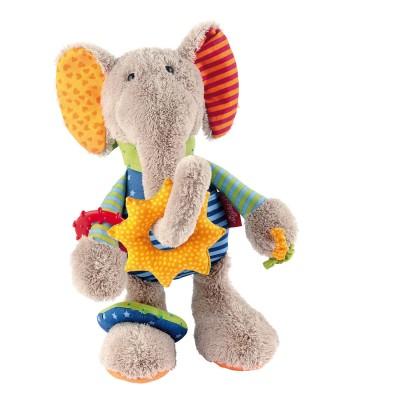 Sigikid Peluche d'activité : elephant