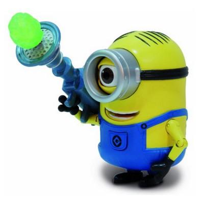 Mtw Toys figurine de luxe moi, moche et méchant 2 : stuart jaune et son lance-Roquettes